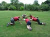 Group exercise in Banbury