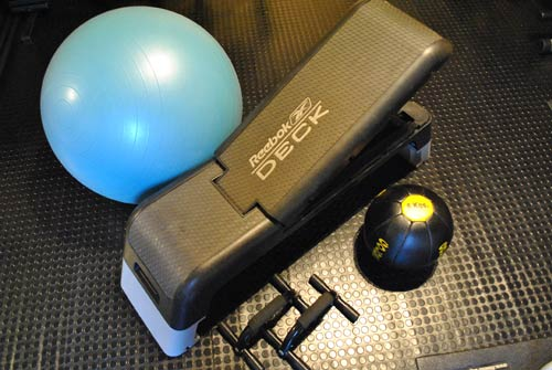 Image of Aerobic equipment in Studio Banbury