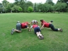 Outdoor group fitness class Banbury